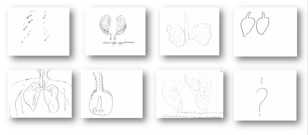 Dit is hoe COPD'ers hun eigen longen tekenen.